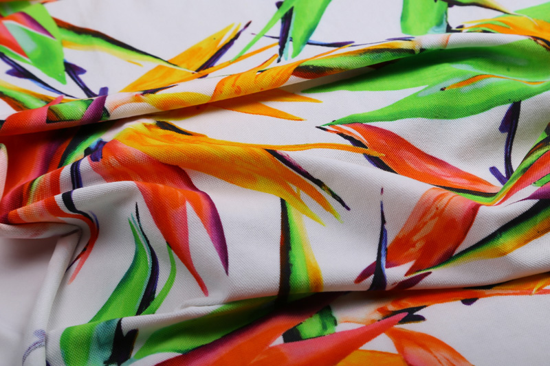 Digital print on crepe fabrics